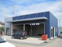 施工事例|プレハブ倉庫・工場|熊谷市:㈱デイブレイク様 自動車修理工場|フォト1